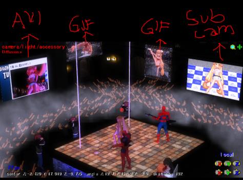 re - video renders 5 different screens
